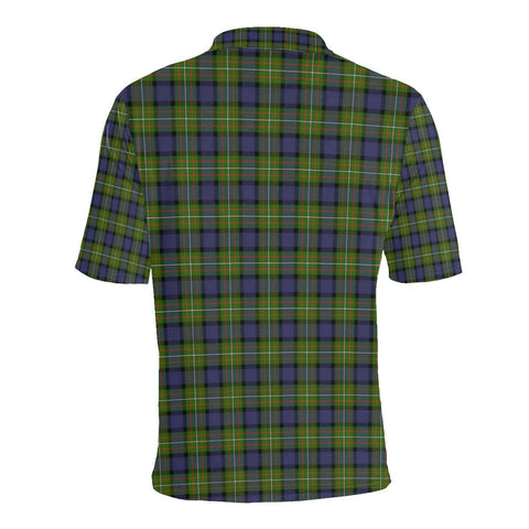 Fergusson Modern Tartan Clan Badge Polo Shirt HJ4
