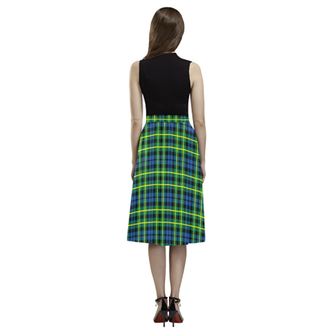 Campbell of Breadalbane Ancient Tartan Aoede Crepe Skirt | Exclusive Over 500 Tartan