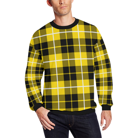 Image of Barclay Dress Modern Tartan Crewneck Sweatshirt TH8