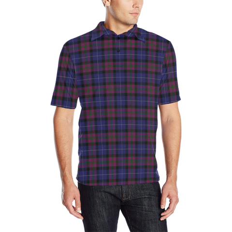 Pride of Scotland Tartan Polo Shirt