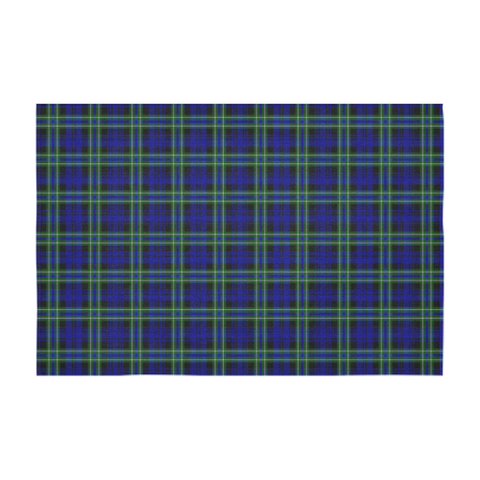 Image of Arbuthnot Modern Tartan Tablecloth | Home Decor
