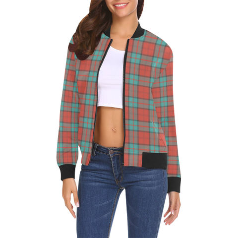Dunbar Ancient Tartan Bomber Jacket | Scottish Jacket | Scotland Clothing