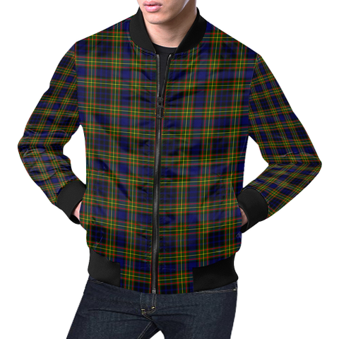 Clelland Modern Tartan Bomber Jacket | Scottish Jacket | Scotland Clothing