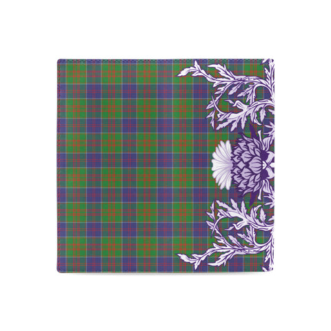 Stewart of Appin Hunting Modern Tartan Wallet Women's Leather Wallet A91 | Over 500 Tartan