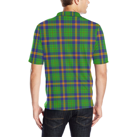 New Mexico Tartan Polo Shirt HJ4