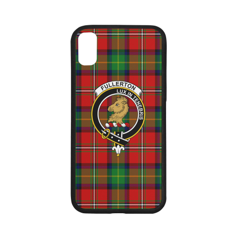 Fullerton Tartan Clan Badge Luminous Phone Case IPhone X