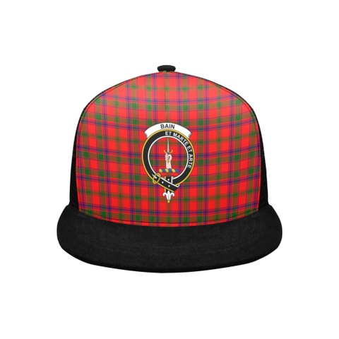 Bain Tartan Trucker Hat All Over