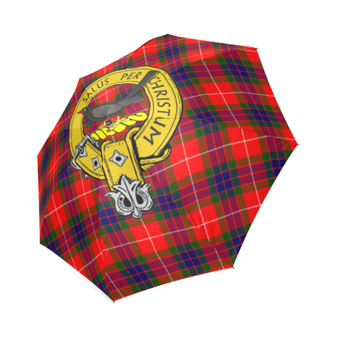 Abernethy Crest Tartan Umbrella TH8