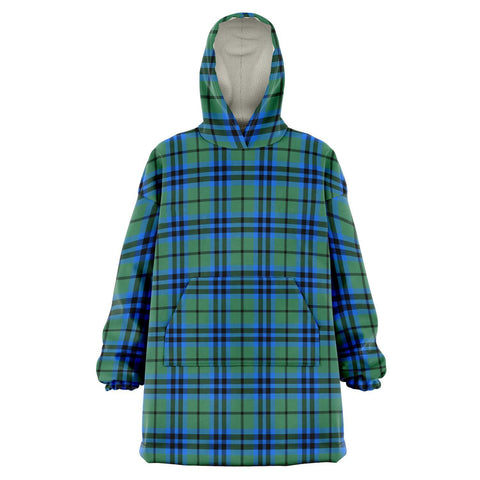 Image of Falconer Snug Hoodie - Unisex Tartan Plaid Front