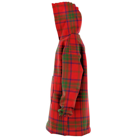 Ross Modern Snug Hoodie - Unisex Tartan Plaid Left