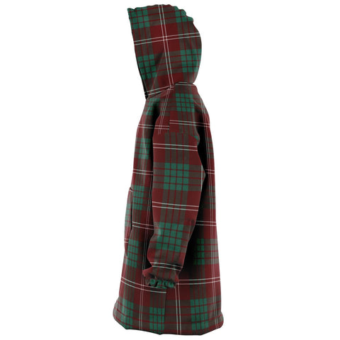 Crawford Modern Snug Hoodie - Unisex Tartan Plaid Left