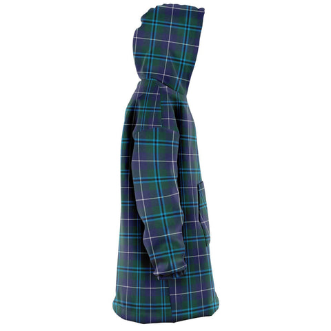 Douglas Modern Snug Hoodie - Unisex Tartan Plaid Right