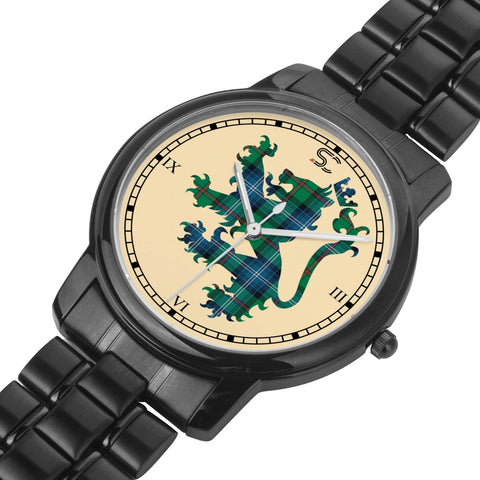 Urquhart Ancient Tartan Watch Lion Scottish Vesion K7