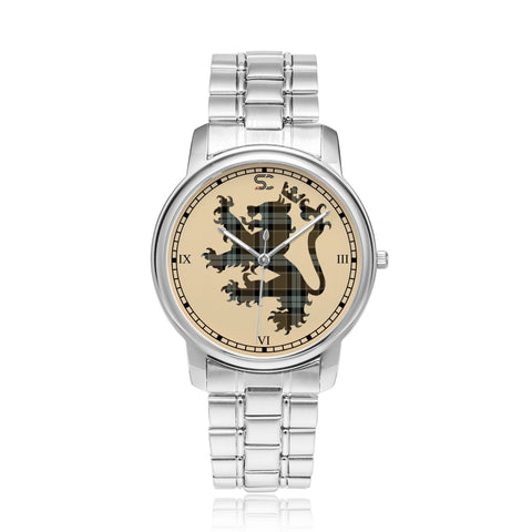 Image of Graham of Menteith Weathered Tartan Watch Lion Scottish Vesion K7