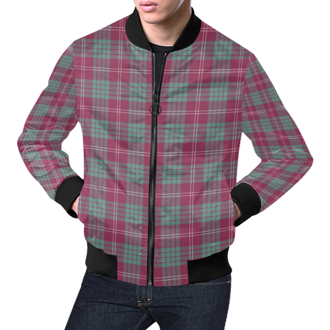 Crawford Ancient Tartan Bomber Jacket | Scottish Jacket | Scotland Clothing