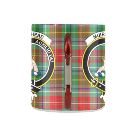 Image of Muirhead Tartan Mug Classic Insulated - Clan Badge K7