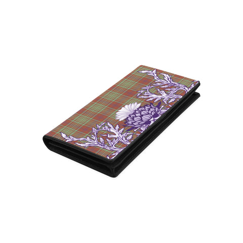 MacGillivray Hunting Ancient Tartan Wallet Women's Leather Wallet A91 | Over 500 Tartan