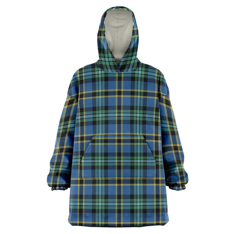 Weir Ancient Snug Hoodie - Unisex Tartan Plaid Front