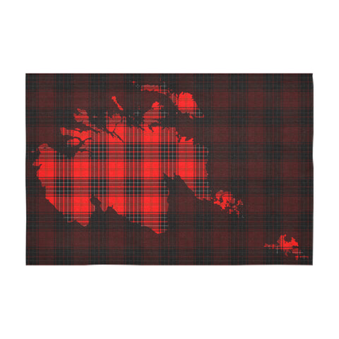 Wemyss Modern Tartan Map Tablecloth