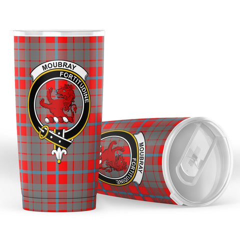 Moubray Tartan Tumbler, Scottish Moubray Plaid Insulated Tumbler - BN