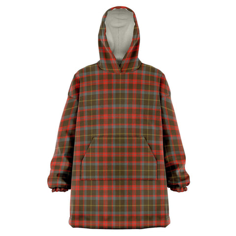 MacKintosh Hunting Weathered Snug Hoodie - Unisex Tartan Plaid Front