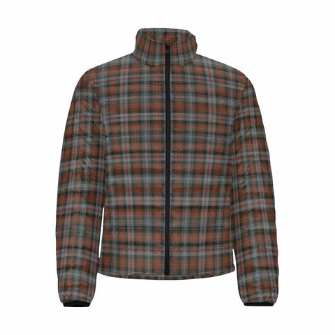 Murray of Atholl Weathered Clan Scotland Tartan  Men's Lightweight Bomber Jacket K9