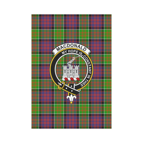 Macdonald Of Clan Ranald Tartan Flag Clan Badge K7