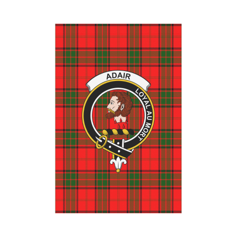 Adair Tartan Flag Clan Badge | Scottishclans.co