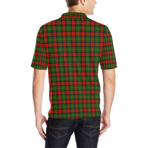 Image of Blackstock Tartan Polo Shirt HJ4