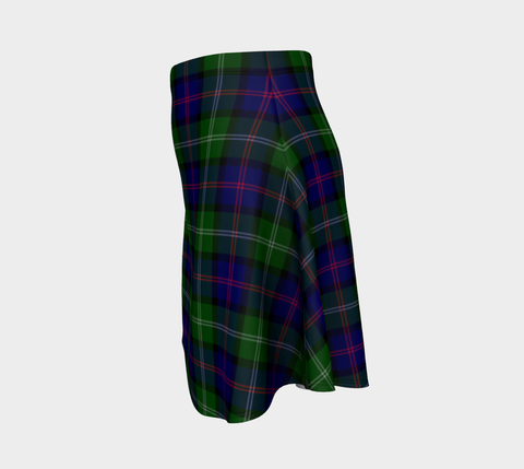 Image of Tartan Flared Skirt - MacThomas Modern A9