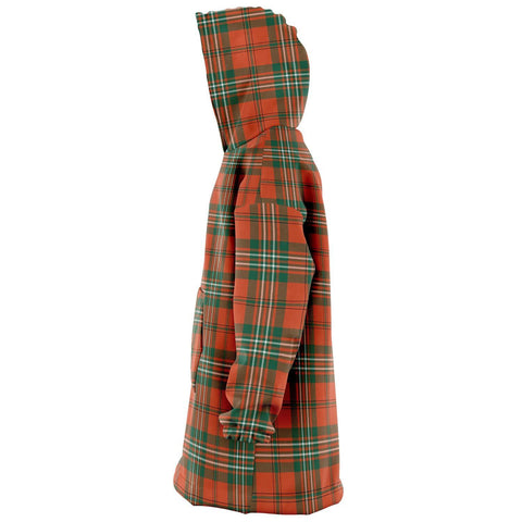 SCOTT ANCIENT Snug Hoodie - Unisex Tartan Plaid Left