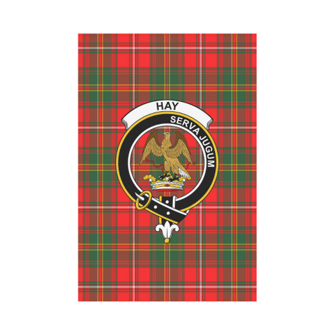 Image of Hay Modern Tartan Flag Clan Badge K7