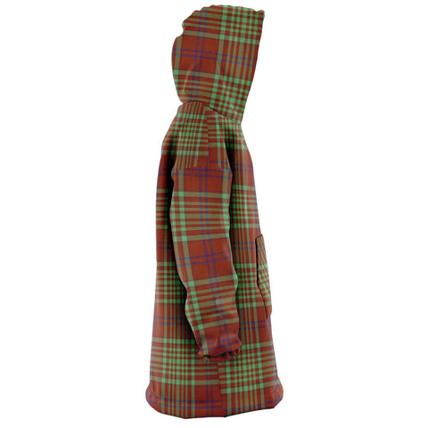 MacGillivray Hunting Ancient Snug Hoodie - Unisex Tartan Plaid Right