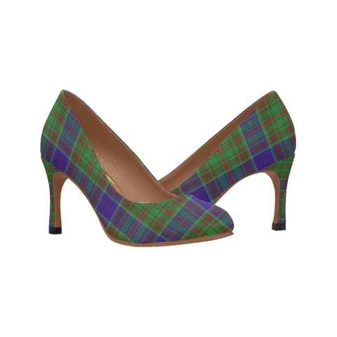 Adam Plaid Heels