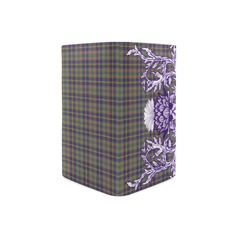 Taylor Weathered Tartan Wallet Women's Leather Thistle A91