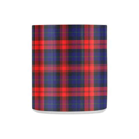 Maclachlan Modern Tartan Mug Classic Insulated - Clan Badge K7