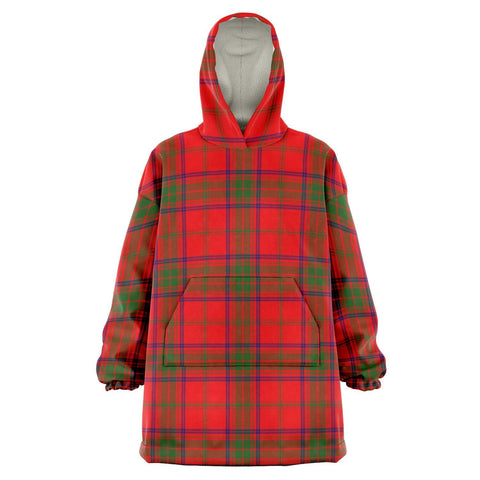 Image of Ross Modern Snug Hoodie - Unisex Tartan Plaid Front