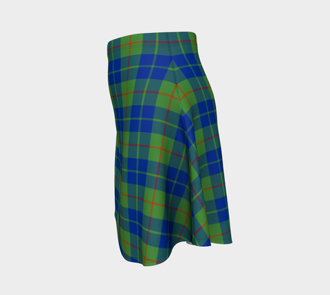 Tartan Flared Skirt - Barclay Hunting Ancient |Over 500 Tartans | Special Custom Design | Love Scotland