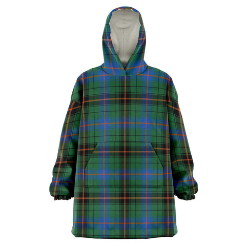 Image of Davidson Ancient Snug Hoodie - Unisex Tartan Plaid Front