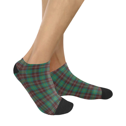 Chisholm Hunting Ancient Tartan Ankle Socks K7