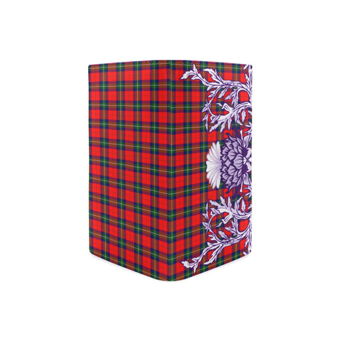 Ruthven Modern Tartan Wallet Women's Leather Thistle A91