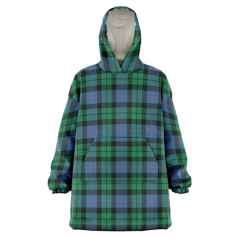 Image of Morrison Ancient Snug Hoodie - Unisex Tartan Plaid Front