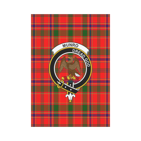 Image of Munro Modern Tartan Flag Clan Badge | Scottishclans.co