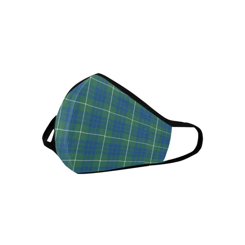 Hamilton Hunting Ancient Tartan Mouth Mask With Filter | scottishclans.co