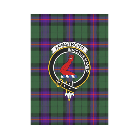 Armstrong Modern Tartan Flag Clan Badge | Scottishclans.co