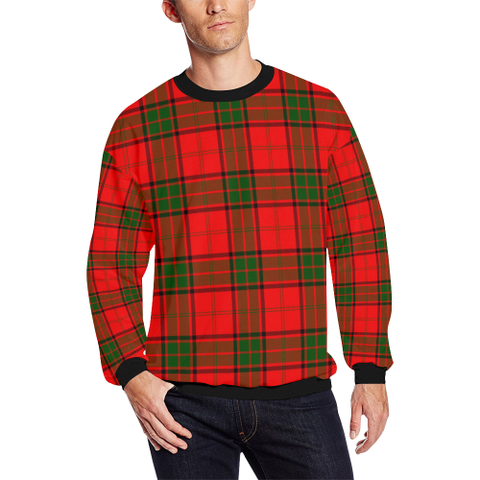 Adair Tartan Crewneck Sweatshirt TH8