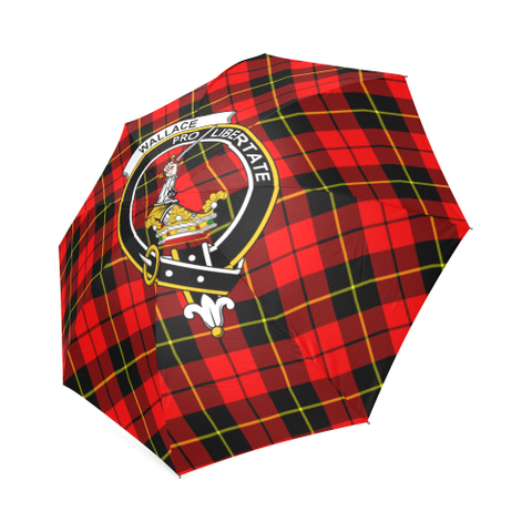 Wallace Hunting - Red Crest Tartan Umbrella TH8