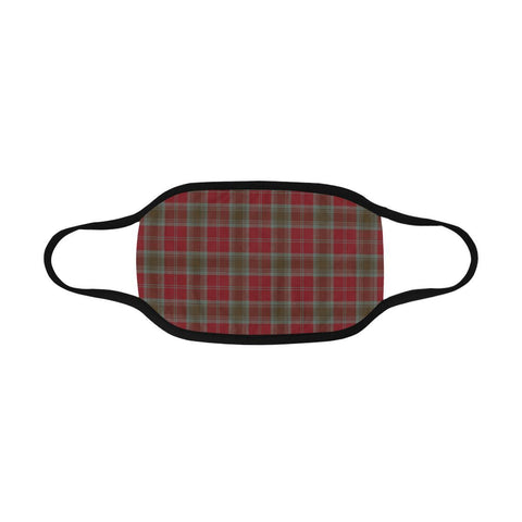 Lindsay Weathered Tartan Mouth Mask Inner Pocket K6 (Combo)