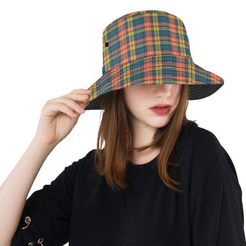 Buchanan Ancient Tartan Bucket Hat for Women and Men | Scottishclans.co