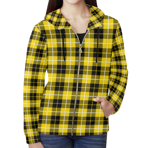 Barclay Dress Modern Tartan Zipped Hoodie | Special Custom Products